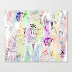 AppleJella Canvas Print