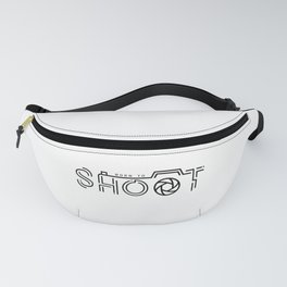 Born to shoot Fanny Pack
