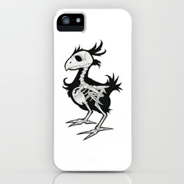 Skull Chocobo iPhone Case