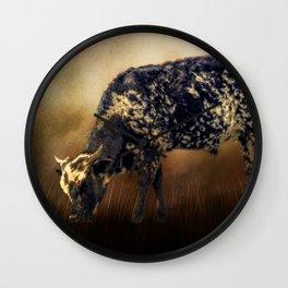 Long Horn Cow Farm Animal Farmhouse Art Modern Country Decor A337 Wall Clock