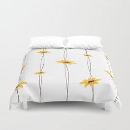 Simple Sunflower String Duvet Cover