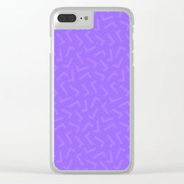 Check-ered Clear iPhone Case