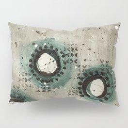 Sepia Circles Low Pillow Sham