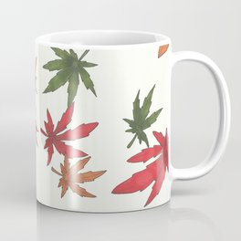 Fallin funny leaves Coffee Mug