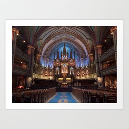 Montréal in November (7 of 11) Art Print