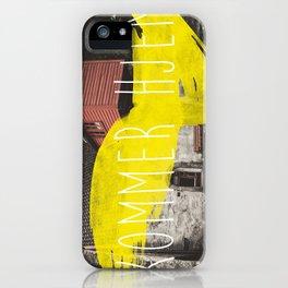 Komme Hjelm iPhone Case