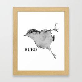 BURD Framed Art Print