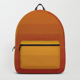 Gradient, Yellow Red Backpack