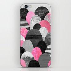Pink Rocks iPhone Skin