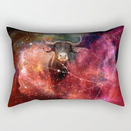 La constellation du Taureau Rectangular Pillow