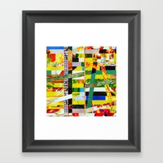 Carina (stripes 2) Framed Art Print