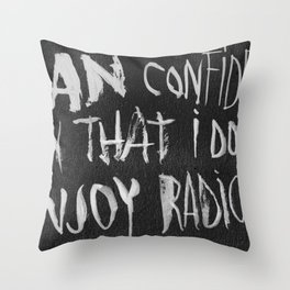 The King of Boring Throw Pillow