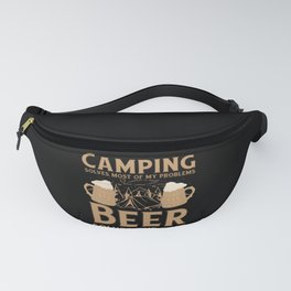 Camping Holiday Sayings Poetry Fanny Pack