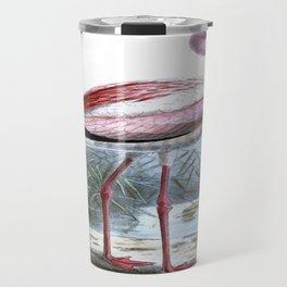 Puna Flamingo Travel Mug