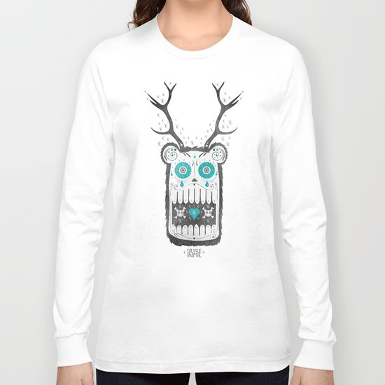 SALVAJEANIMAL MEX cuernitos Long Sleeve T-shirt