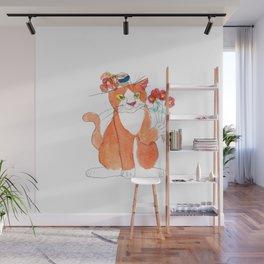 Gentleman Cat Wall Mural