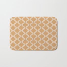 Alva Pattern - Honey Bath Mat