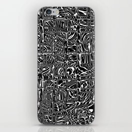 Abstract MAGA Typography iPhone Skin
