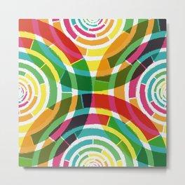 Colorful shouts Metal Print