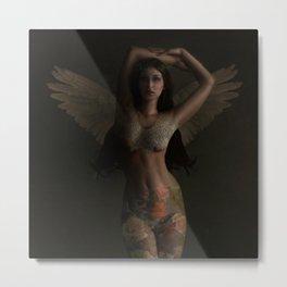 Tattoo Angel Metal Print