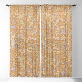 VooDoo Thoughts Sheer Curtain