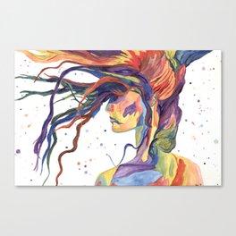 Windblown Canvas Print