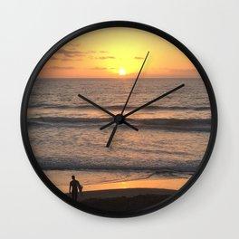 The Last Surf Wall Clock