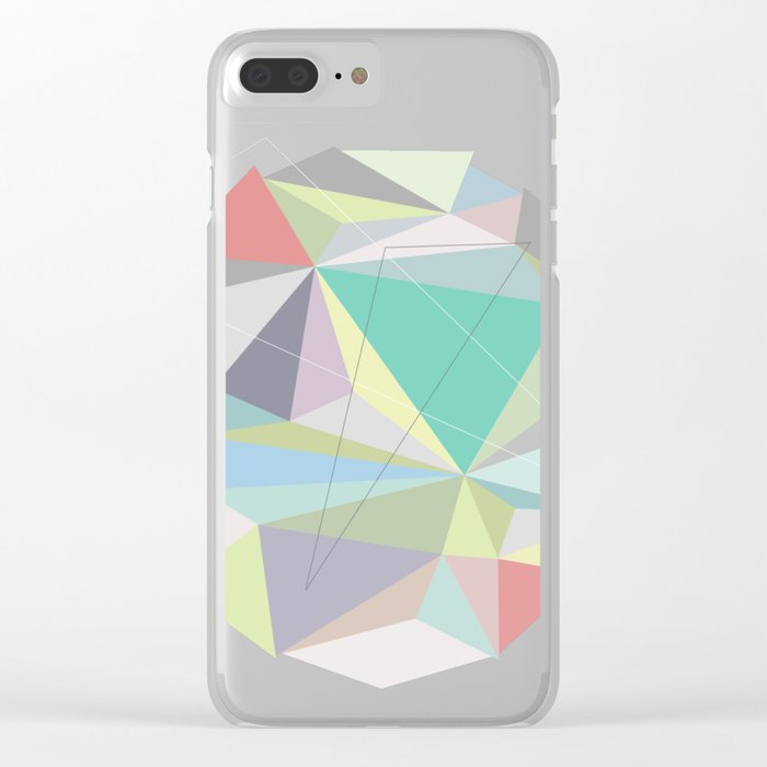 Circle 2 Clear iPhone Case