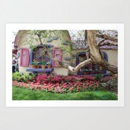All about Minnie Art Print