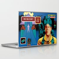 ghostbusters Laptop & iPad Skins featuring Ghostbusters - You Say Yes by Jude Buffum
