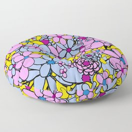 Flowers for You Floor Pillow