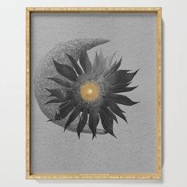 Sun, Moon unity Serving Tray