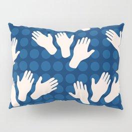 Waving Hands Pillow Sham