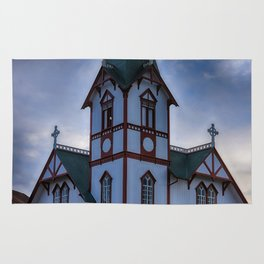Husavik Church Iceland Rug