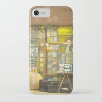 record iPhone & iPod Cases featuring Record Store by Cassia Beck