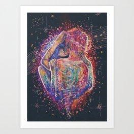 Energy Exchange Art Print