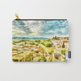 Obidos, small and authentic fortified town in Portugal Carry-All Pouch