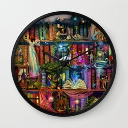 Whimsy Trove - Treasure Hunt Wall Clock