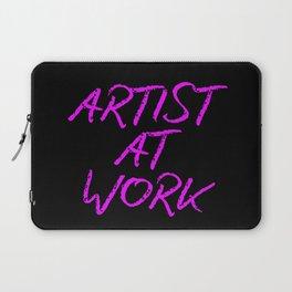 Artist at Work (pink) Laptop Sleeve