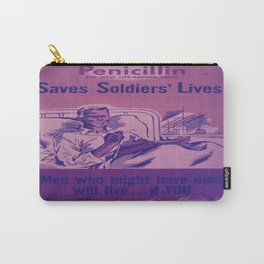 Vintage poster - Penicillin Carry-All Pouch
