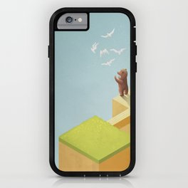 lost thoughts iPhone Case