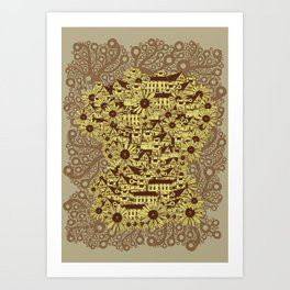 Mathematically Art Print