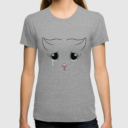 Sad Cat T-shirt
