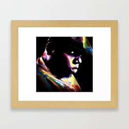 Big Papa Framed Art Print