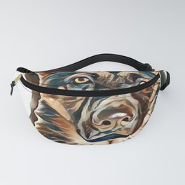 rescue pup Fanny Pack