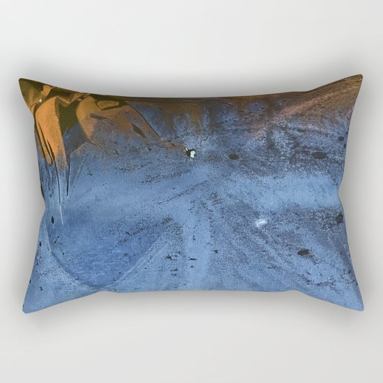 Ocean At Night Jean Copper Rectangular Pillow