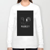 hamlet Long Sleeve T-shirts featuring Hamlet: Prince of Mars by Caitlin Taduran