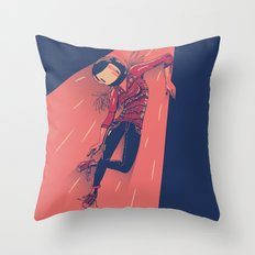 Hipstonaut Throw Pillow