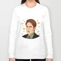 mulder Long Sleeve T-shirts featuring Mulder Yes by fin apollo