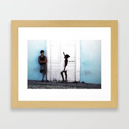 Cuban Love Framed Art Print